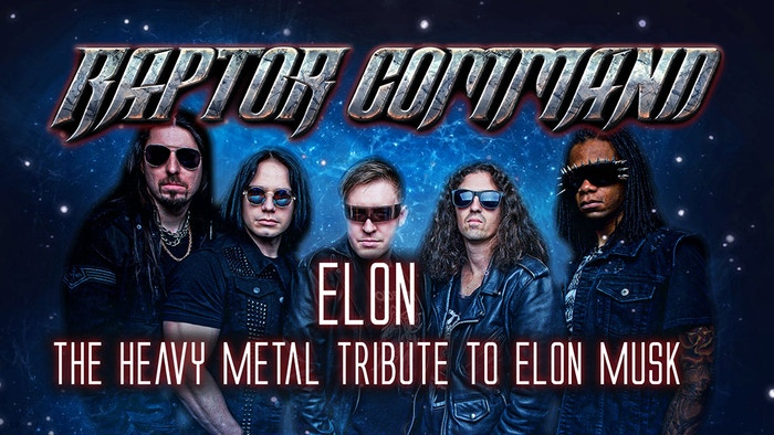 Help Earth's only Heavy Metal Tribute to Elon Musk launch a satellite and bring an inspiring, heavy metal future to all of humanity!
