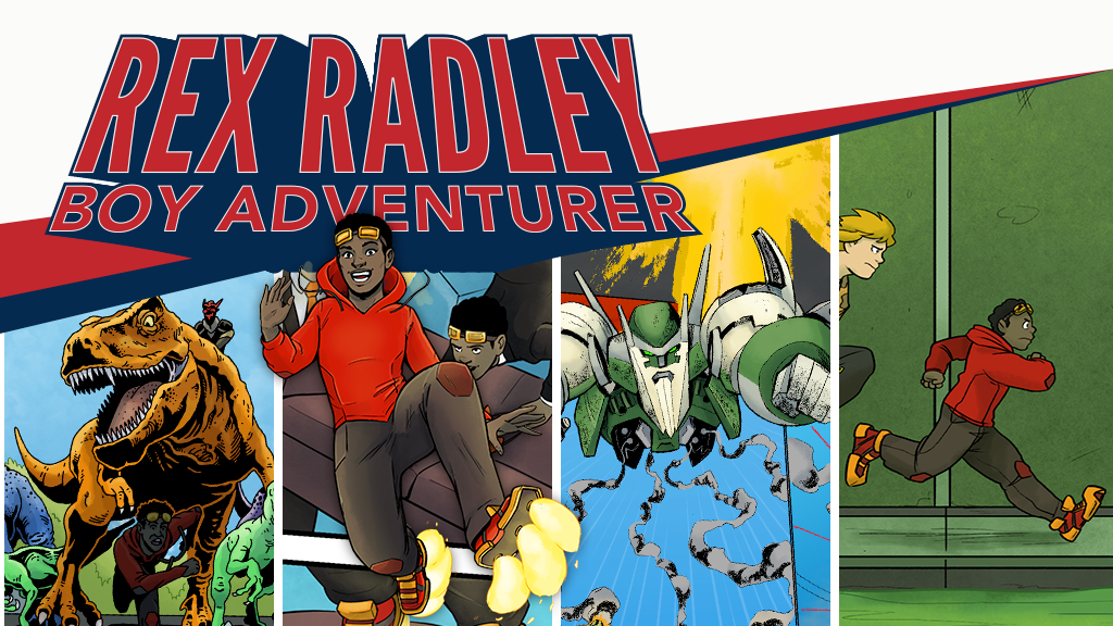Rex Radley: Boy Adventurer project video thumbnail