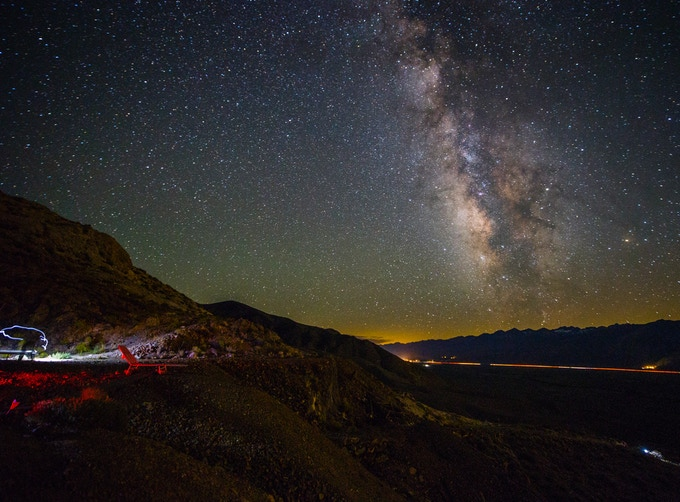 California's Eastern Sierra features some of the darkest skies in the country