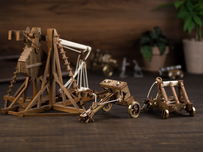 The Trebuchet, Catapult, and Ballista!