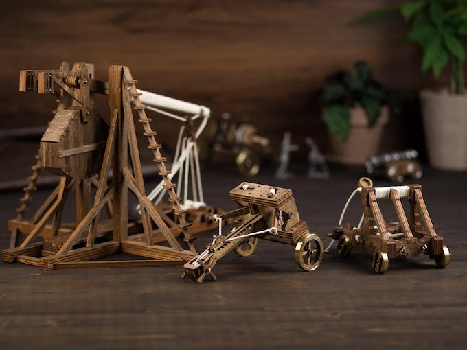 The Trebuchet, Catapult, and Ballista!
