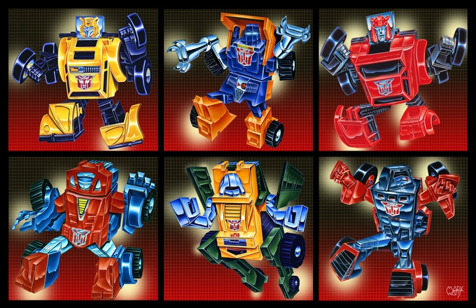 Transformers G1 First Transformers