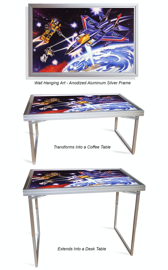 Table Art / Wall Art + Coffee Table + Desk Table