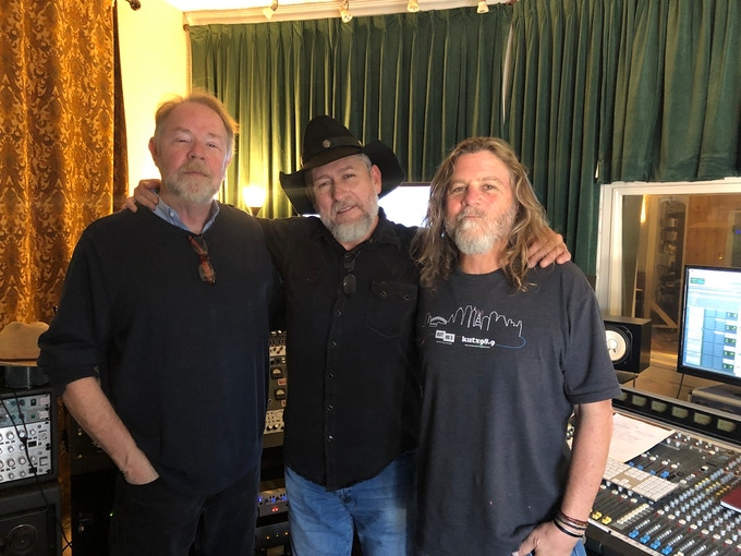 The Production Team - Ron Flynt, Chuck, and Walt Wilkins