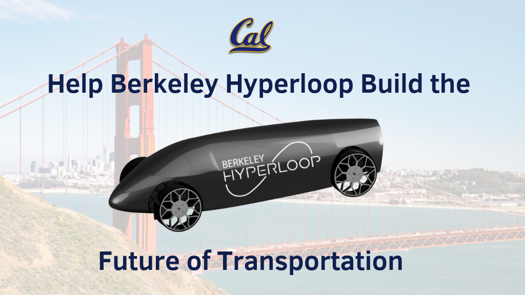 Project image for Berkeley Hyperloop's Run to SpaceX's Pod Competition 2019!