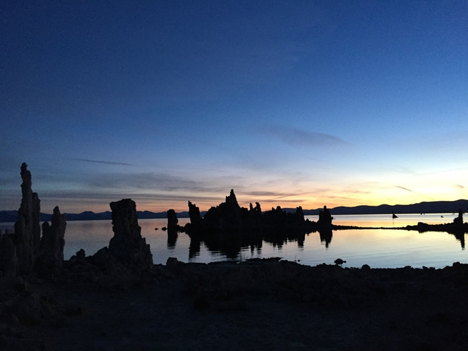 Mono Lake and its Tufa formations (Near Lee Vining)