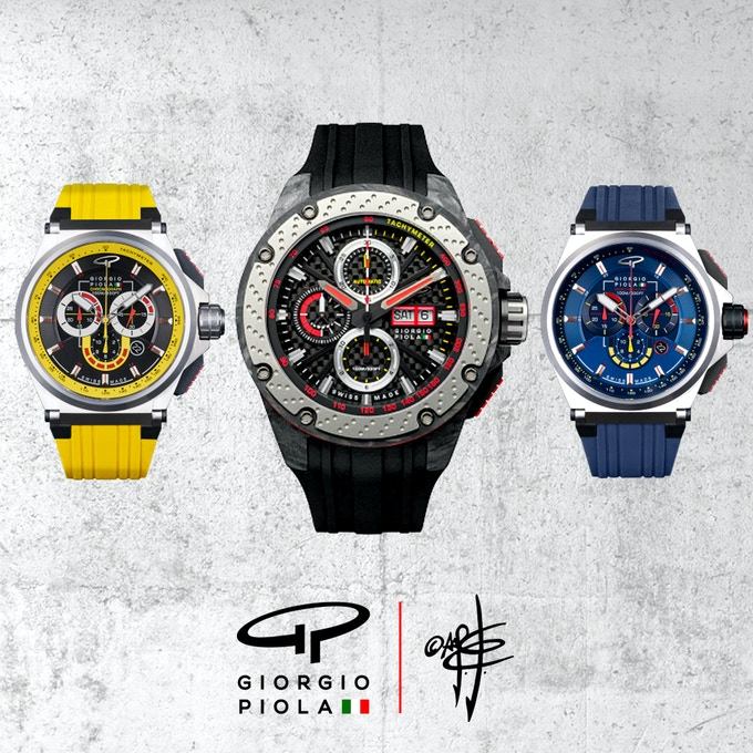 Sample of existing Giorgio Piola watch collection