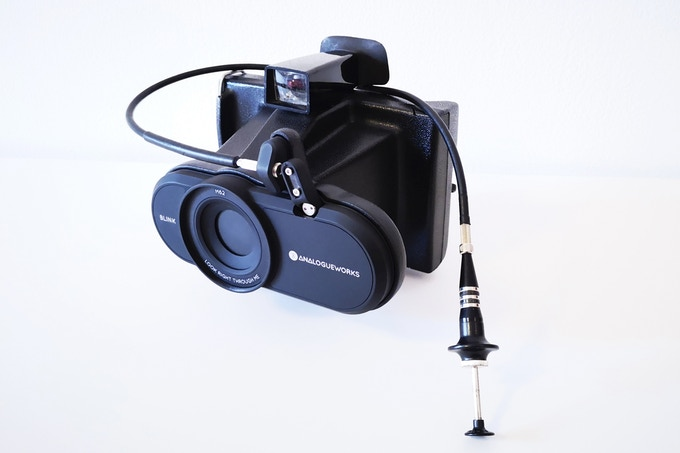 SANTI`S AEROSPACE PINHOLE BLINK CAM BLACK EDITION