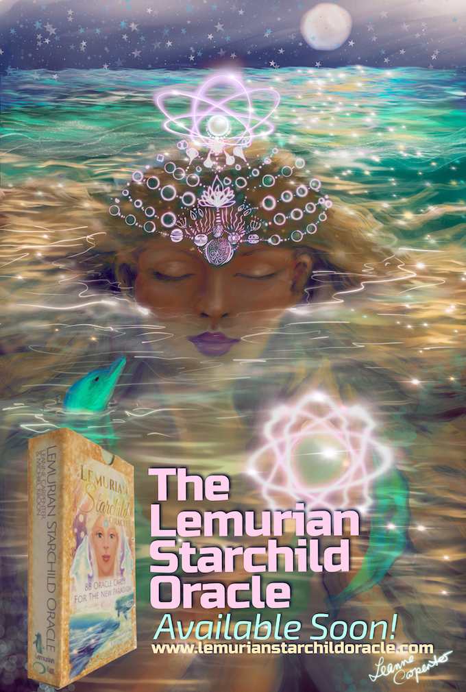 The Lemurian Starchild Oracle Card Deck by Leanne Carpenter