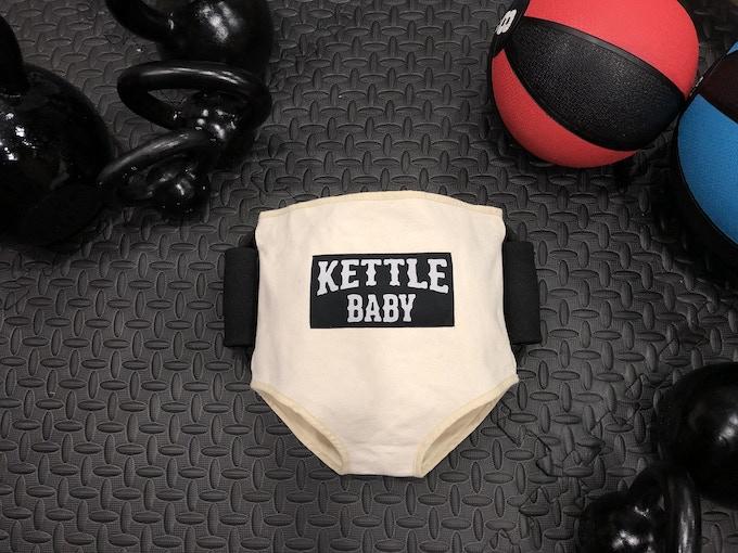 The Original Patent-Pending KettleBaby!