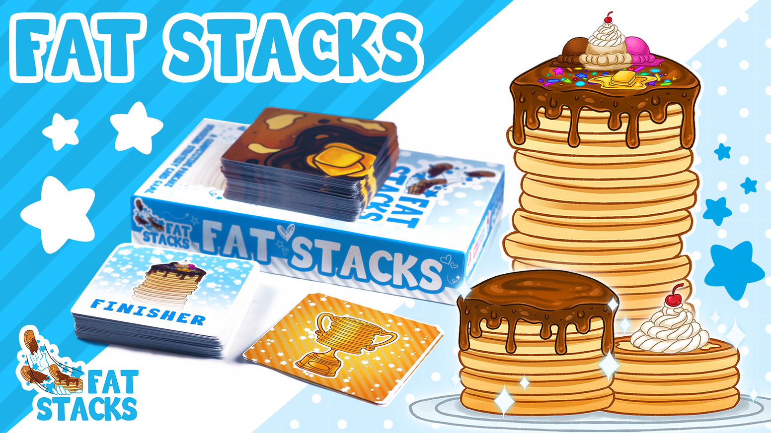 Make it rain pancakes in FAT STACKS.  Create the breakfast of dreams or the brunch of nightmares!