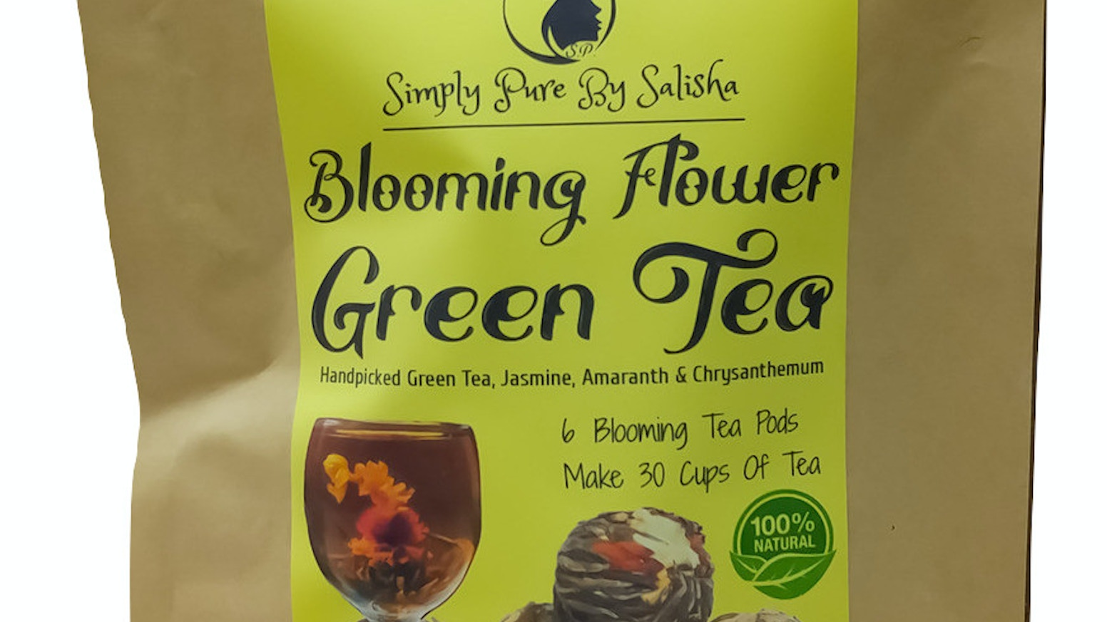 Still Drinking The Same Old Tea In Bags? Blossom With SImply Pure Natural Blooming Flower Tea. The Most Beautiful Tea In The World!