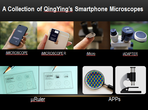 Fingertip Microscope - Add an 800x microscope to your phone