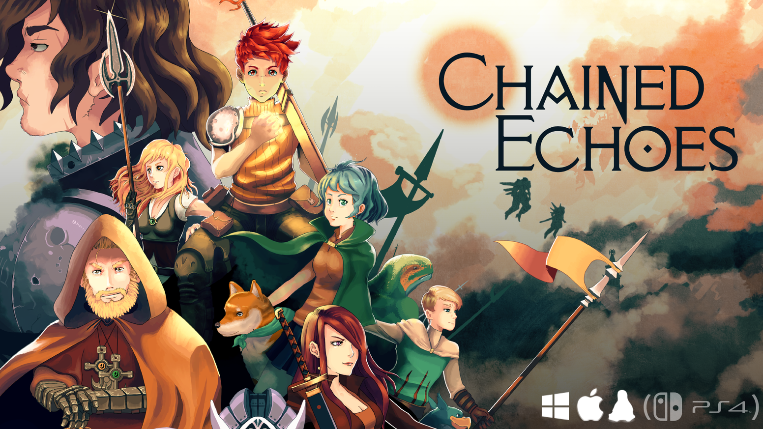 A classic JRPG adventure that combines a fantasy world full of magic with mechs and airships.
