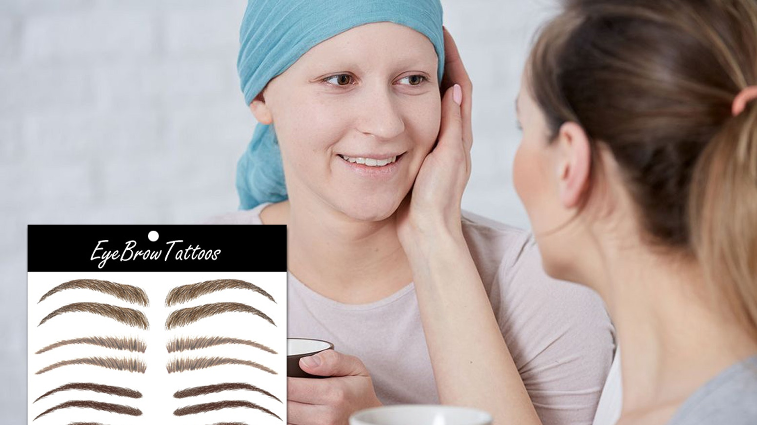Eyebrow Temporary Tattoos For Cancer Patients By Keith Hoffart Kickstarter
