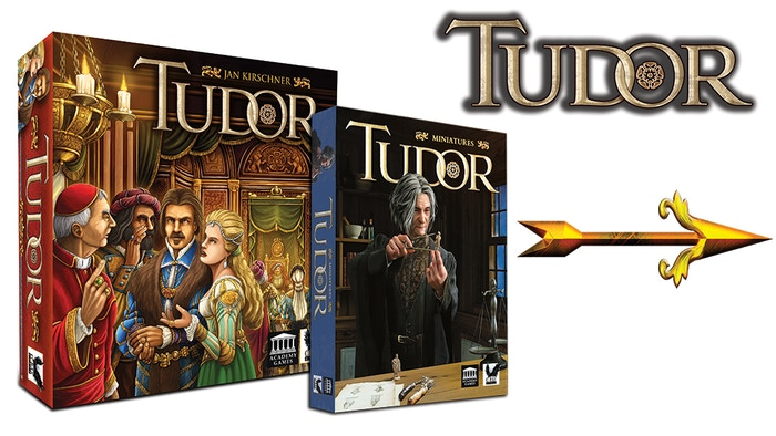 You are a Lord in the court of King Henry VIII gaining prestige and power in this worker placement Eurogame for 2 to 4 players.