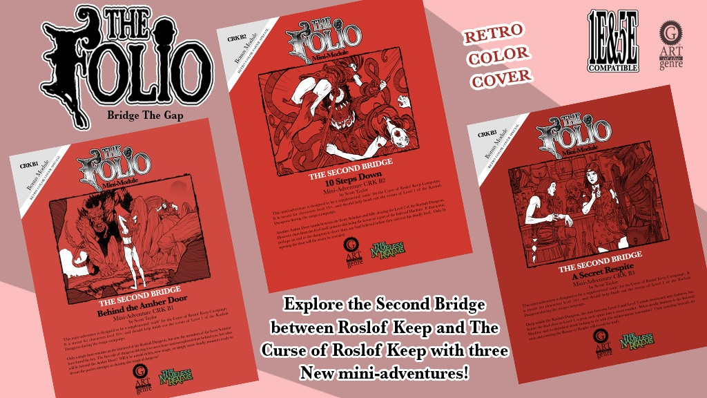 Project image for Retro 1E & 5E Fantasy Mini-Adventure Set 2