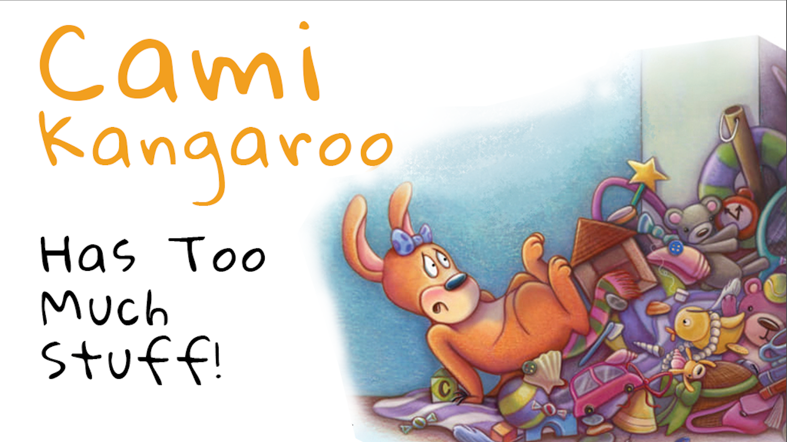 "Cute and spirited Cami Kangaroo is back in the second book in the series ""Cami Kangaroo and Wyatt Too""."