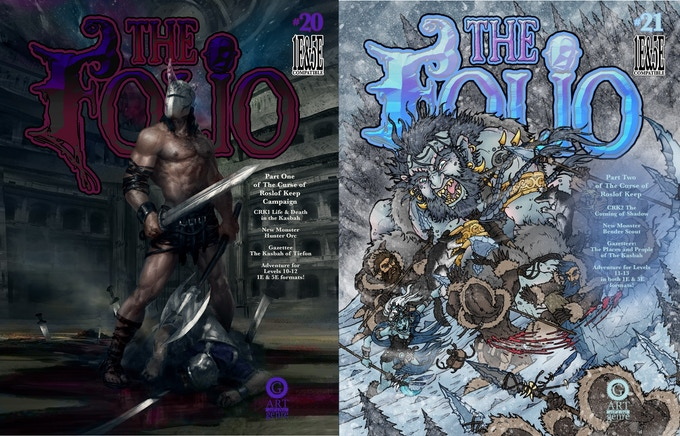 Covers for Folio #20 & #21!