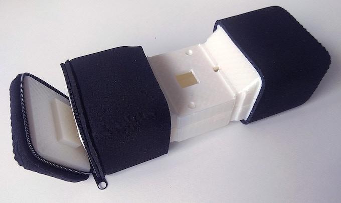 Sytrofoam with neoprene sleeve