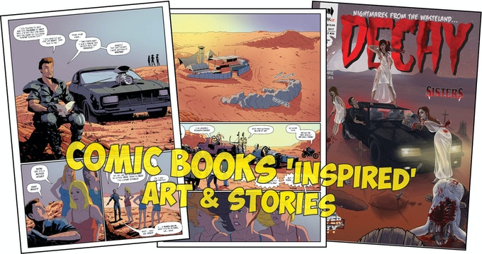 Mad Max in comic books (inspired, influenced, canon)