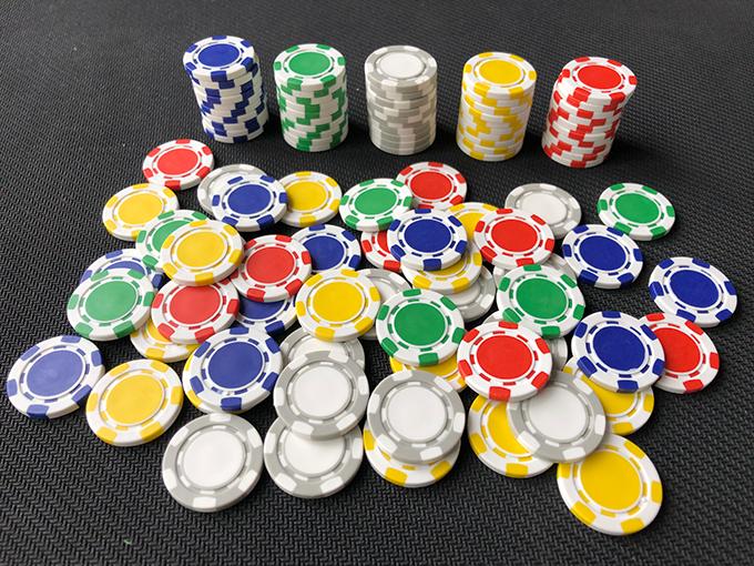 Poker Chips - ABS, 22mm diameter, 1.7g weight