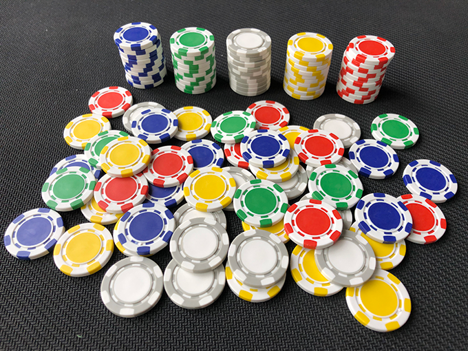 Poker Chips - ABS, 22mm diameter, 1.7g weight