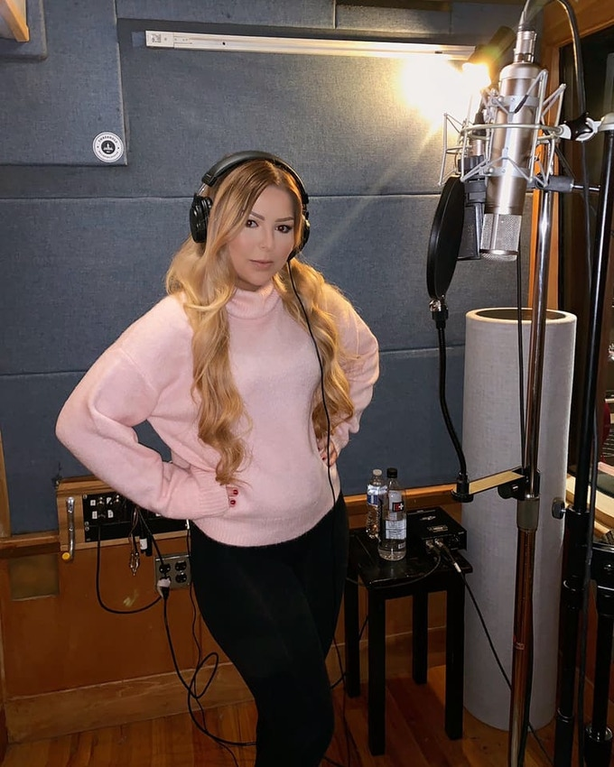 Bianca Ryan working hard on the new music for Part 2