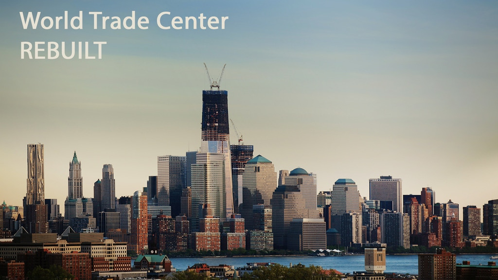 World Trade Center: re-building it frame by frame
