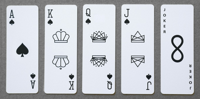Warp Speed and Astronauts Playing Cards have the same minimalist look as our original deck