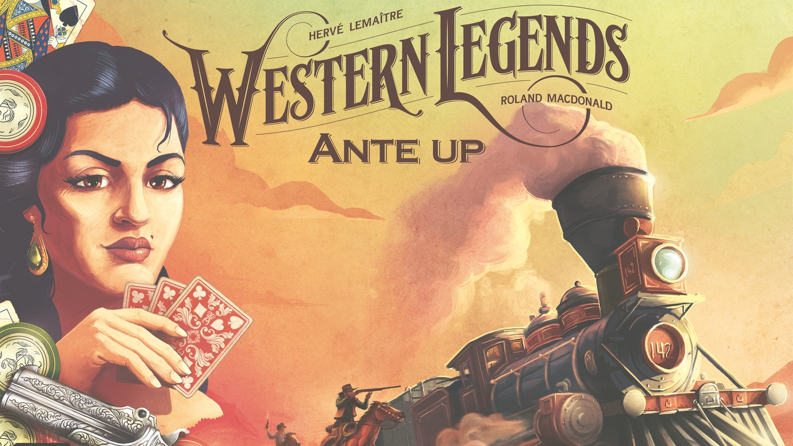 Western Legends: Ante Up is the first big box expansion to the hit sandbox game Western Legends!