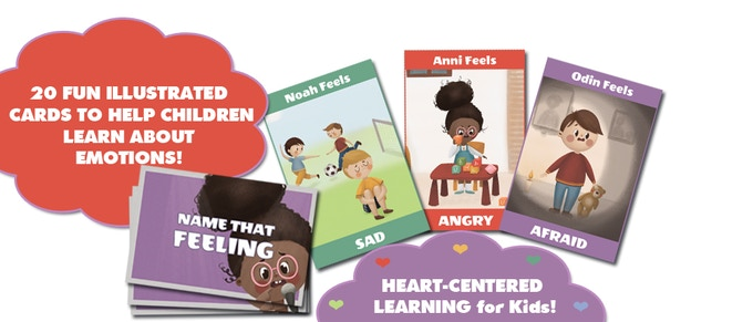 Flash Cards to help children learn about emotions