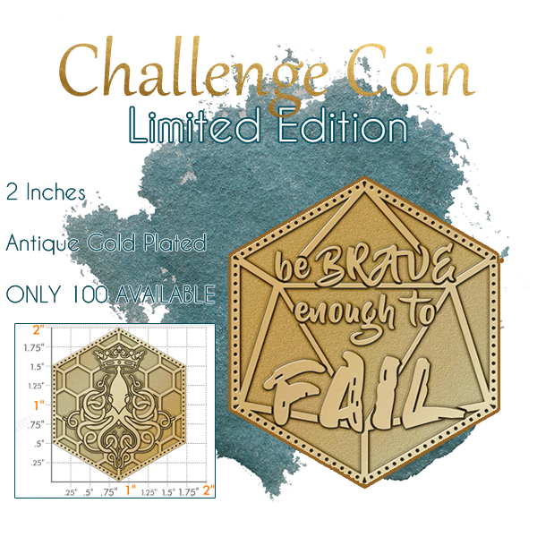 Limited Edition Coin Sample (Final Artwork Forthcoming)