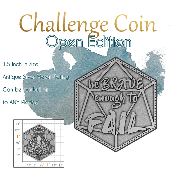 Open Edition Coin Sample (Final Back Artwork Forthcoming)