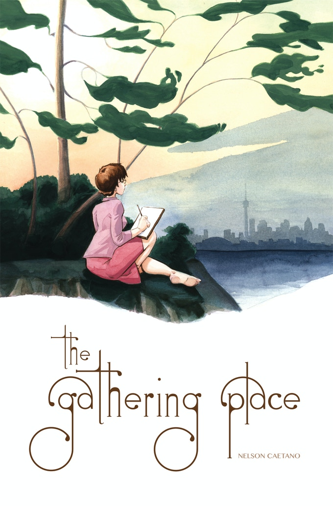 The Gathering Place Premiere Issue Cover Design