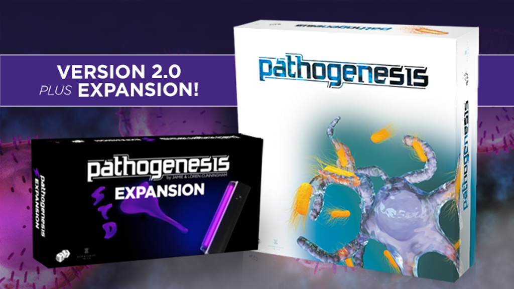 PATHOGENESIS - 2nd Edition + STD Expansion (RELAUNCH) project video thumbnail