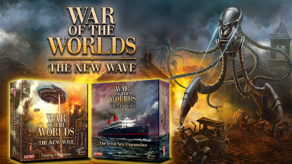War of the Worlds: The New Wave Game project video thumbnail