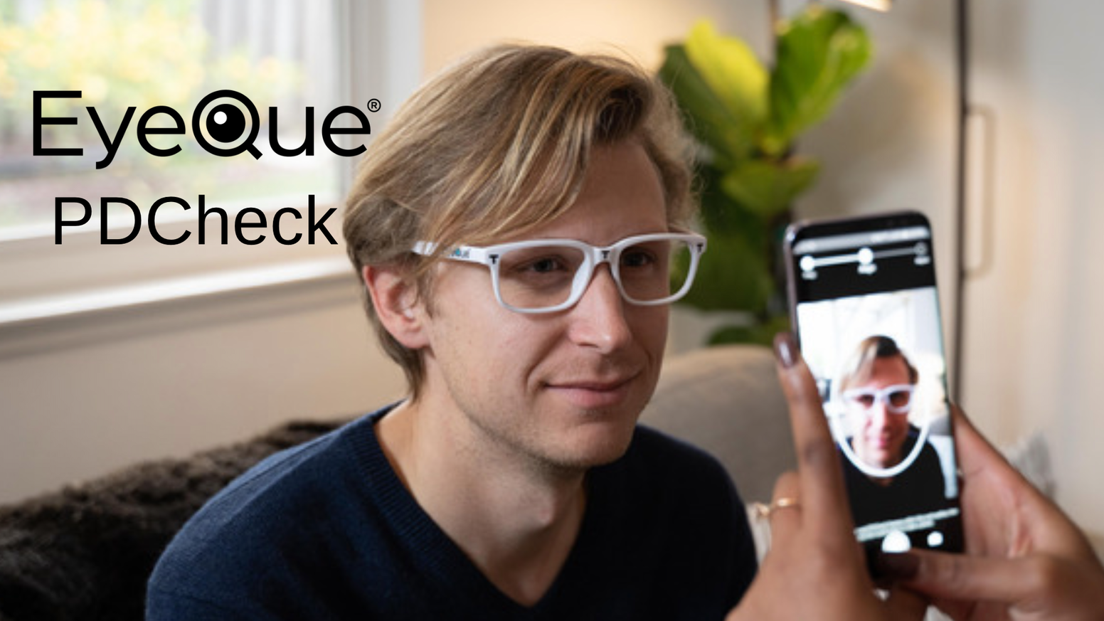 Get your pupillary distance (PD) in a matter of seconds. Extremely accurate results using our patent-pending frames & smartphone app.
