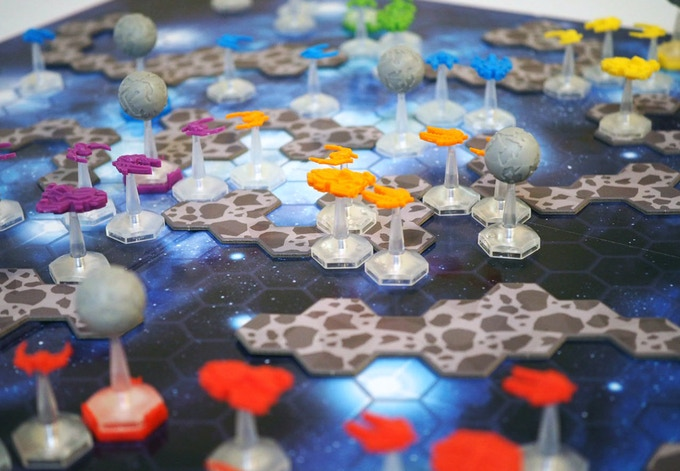 In-game shot from the 1st Edition of Mothership.