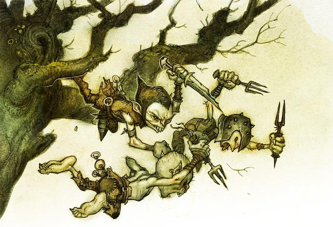 Goblin attack!!!!