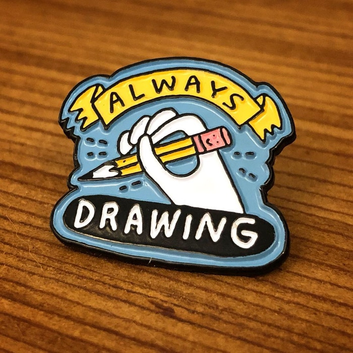 always drawing pin by Mike Lowery