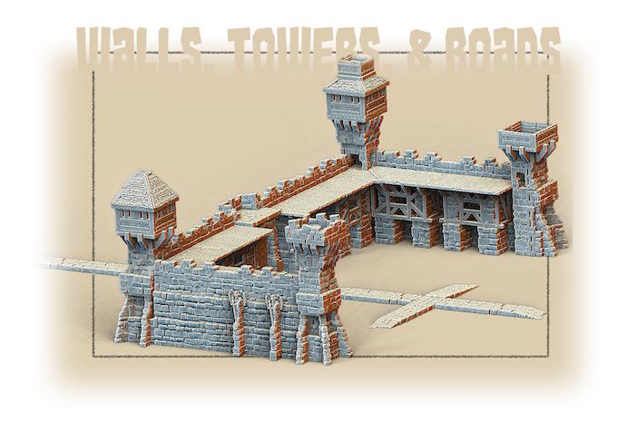 Walls, Towers, & Roads