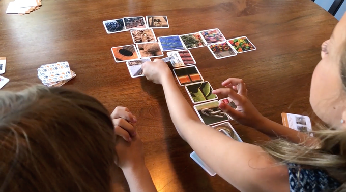 With our prototype sets, we've seen players make up their own games and activities. These two began to improvise by adding stories to guide their matches.