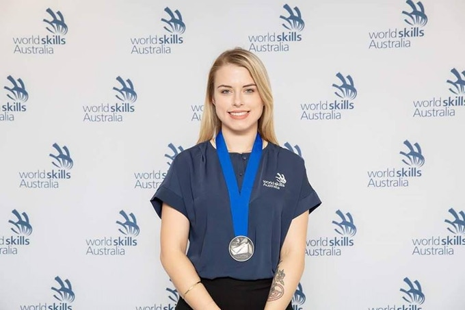 2018 Nationals WorldSkills - Placing Silver