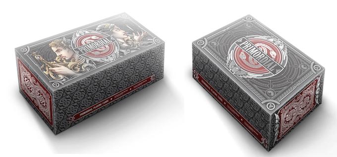 (Left to Right) Primordial Custom Full Brick and Half Brick Boxes