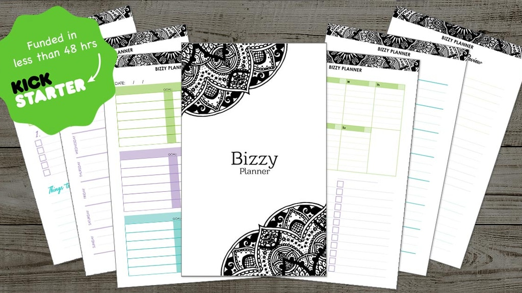 Bizzy Planner : Build better habits and self-care