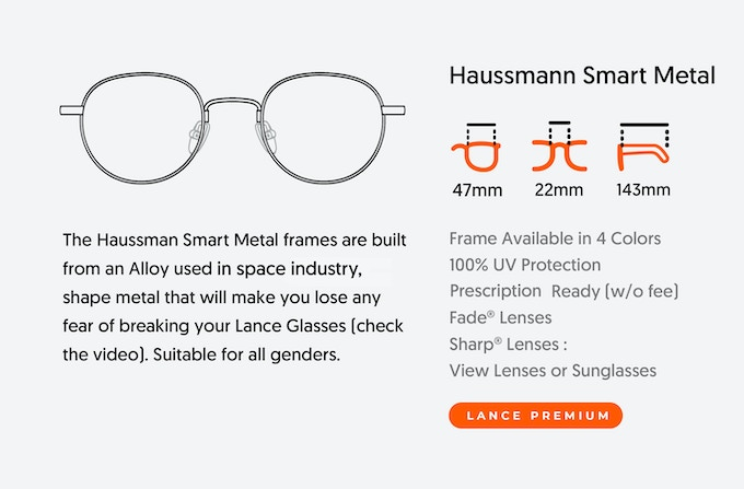 Reinventing The Lightest Luxury Smart Glasses - Lance 2 0 by