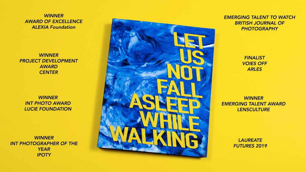 Project image for BOOK PRE ORDER - LET US NOT FALL ASLEEP WHILE WALKING