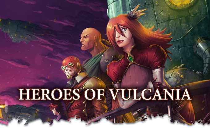 Vulcania Role-playing Game by GearGames — Kickstarter
