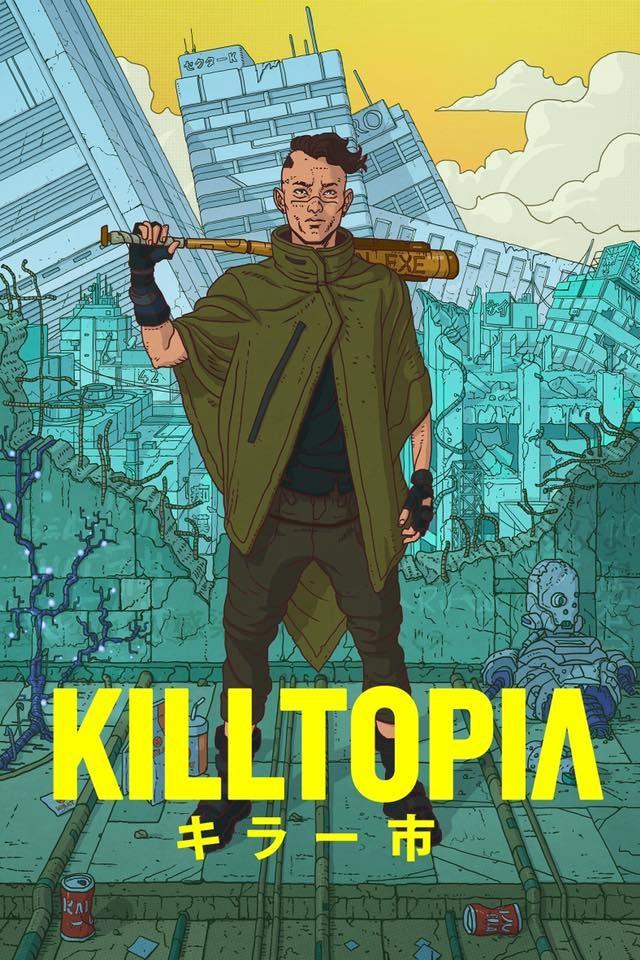 The cover of Killtopia #1